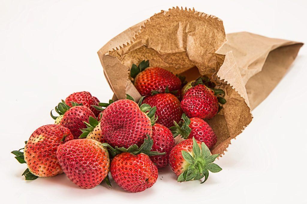 fraises de Touraine